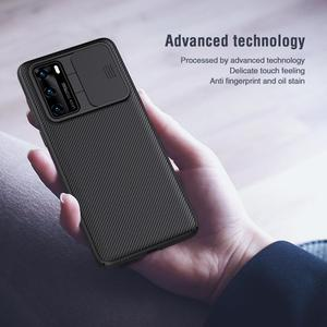 Image 4 - Nillkin Phone Case for Huawei P40 /P40 Pro Cover CamShield Case Slide Camera Lens Protection Cover for Huawei P40 Pro 5G Case