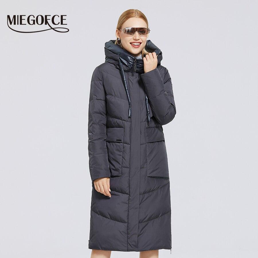 Купить зимняя женская пуховая куртка на Алиэкспресс