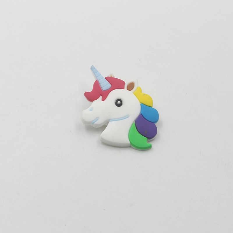 Licorne broche broche Badge accessoires dessin animé mignon mode bijoux enfant cadeaux doux licorne femmes broches pour fille garçon belle