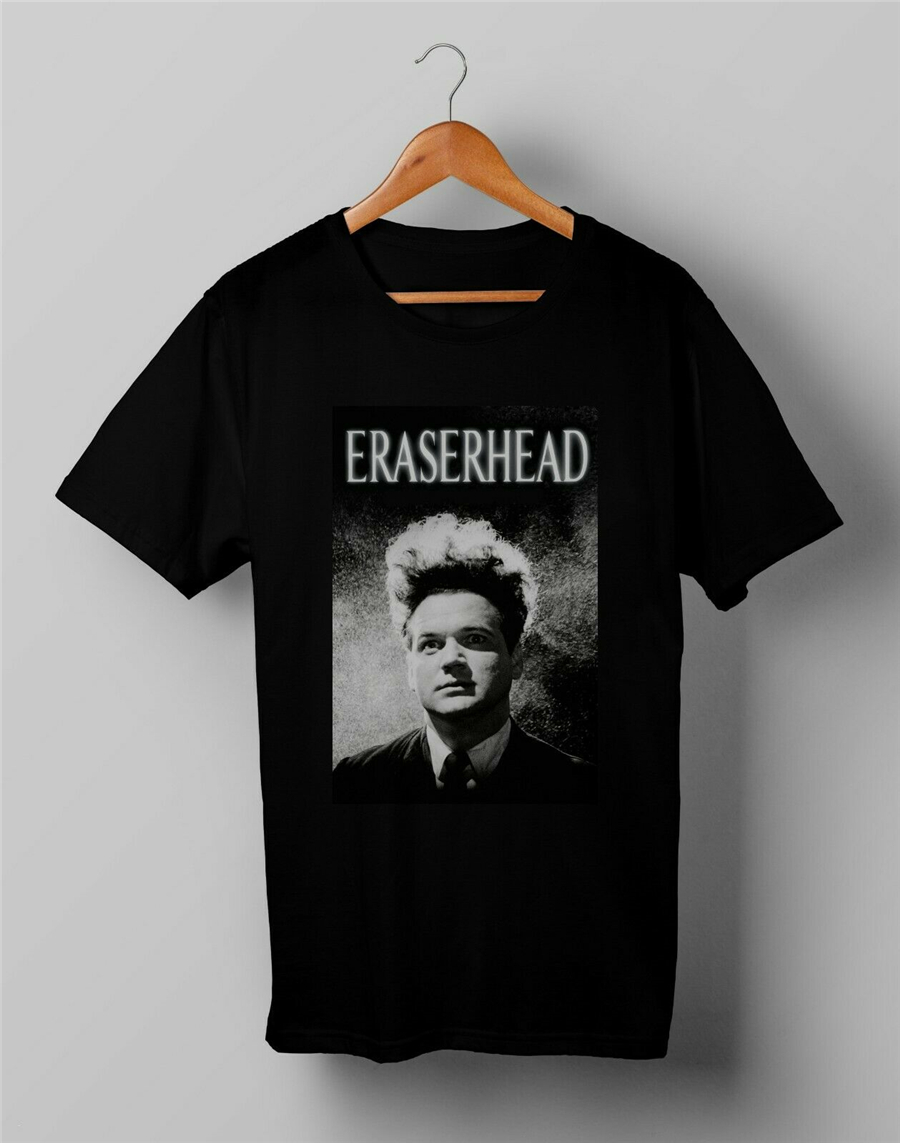 Vintage Eraserhead David Lynch Cult Movie Tops Tee T Shirt Size S M L XL 2XL large size T-Shirt image