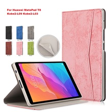 2020 For Huawei MatePad T8 Case 8.0 inch 8 PU Leather Flip Tablet Kobe2-L09 Kobe2-L03 Cover