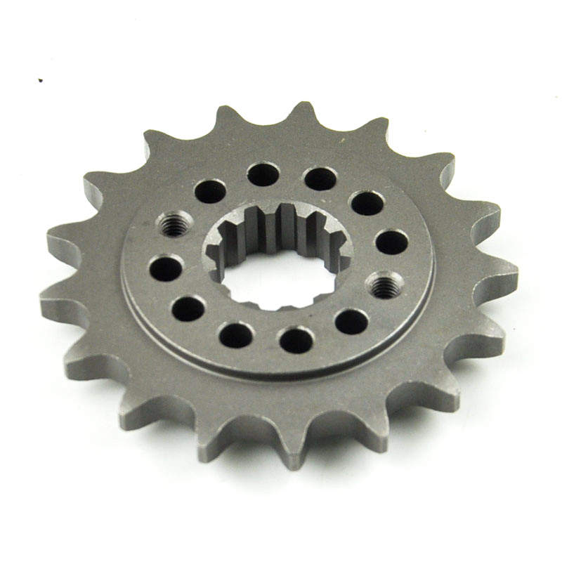 525 17T Motorcycle Front Sprocket pinion For <font><b>Honda</b></font> <font><b>VT750S</b></font> VT750RS Shadow VLX750 RC44 VT750 DC VT750C image