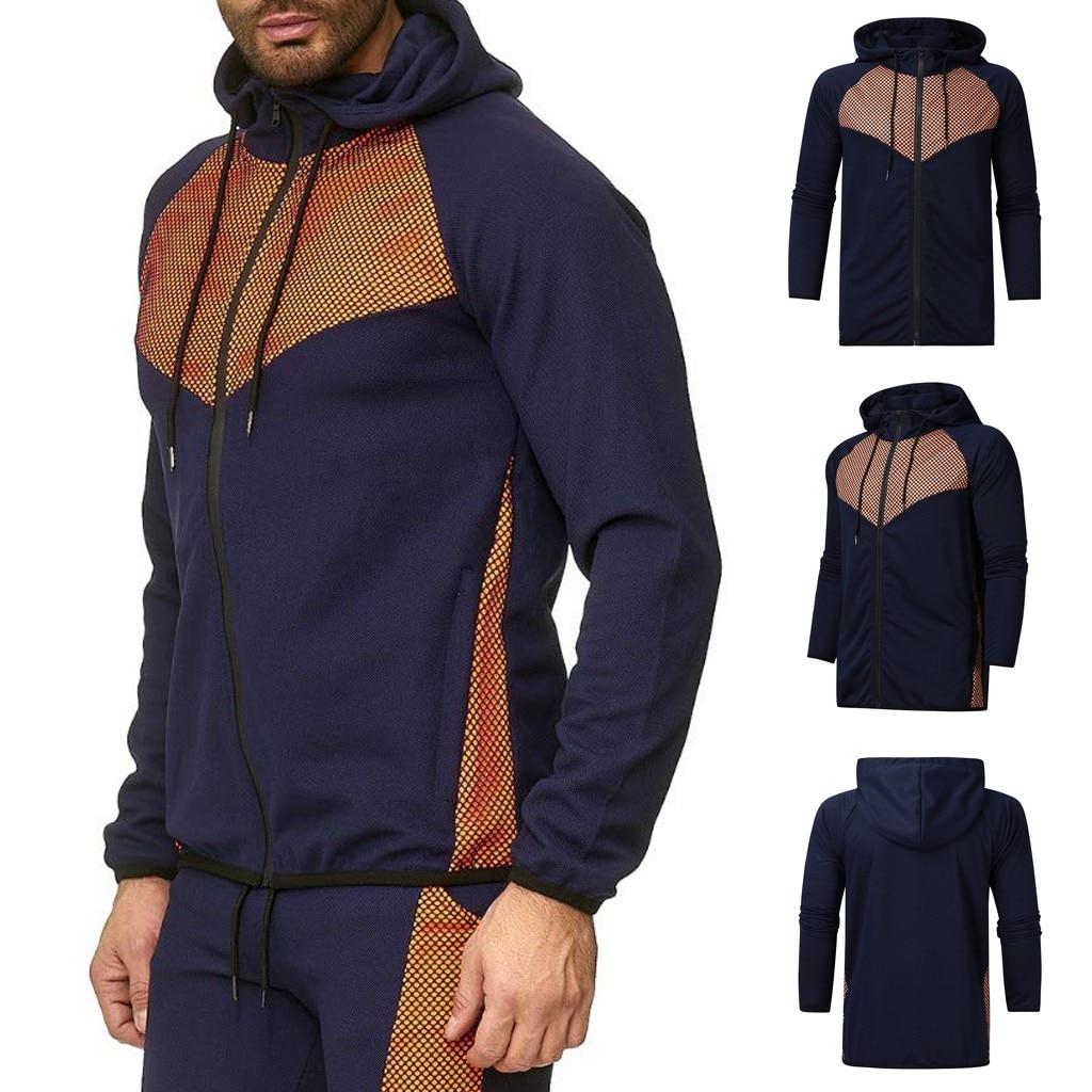 Printed 2019 Autumn Winter Casual Bomber Sport Tennis Jacket Men Jaqueta Masculina Mens Jackets Coat Hoodies Sweatshirt