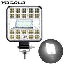 YOSOLO For Truck Tractor 4x4 Off Road 87W LED Work Light Super Bright Driving Light Spot