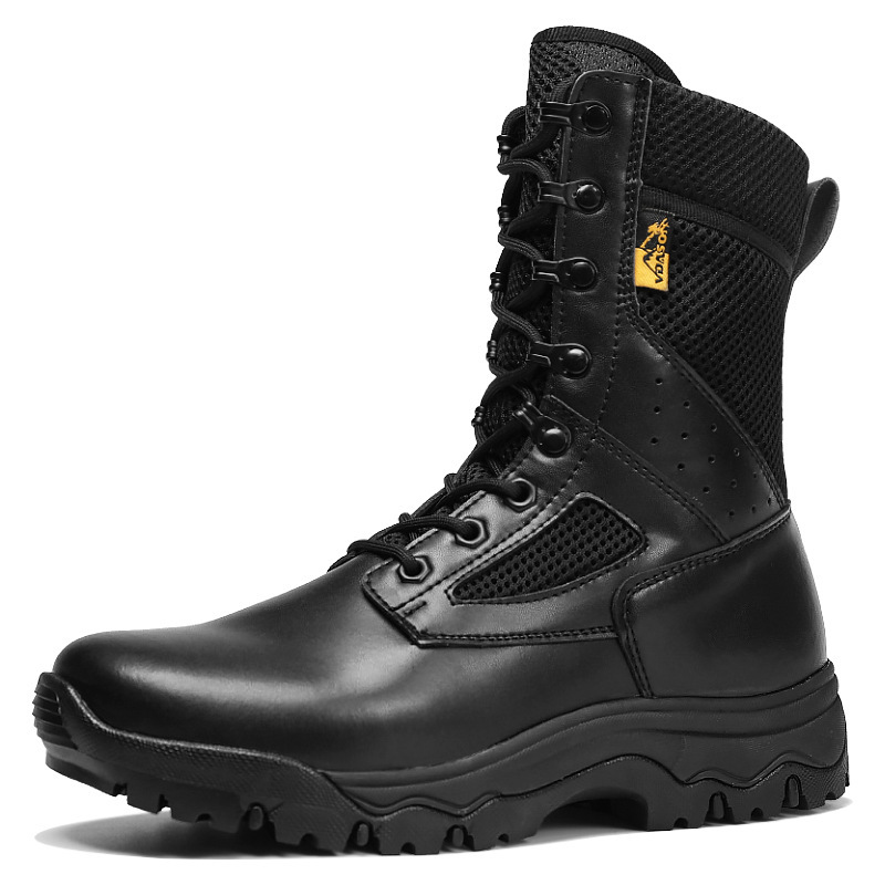 Summer Ultra Light Tactical Training Military Combat Boots Outdoor Hiking Camping Hunt High Top Non slip Breathable Army Shoes|Hiking Shoes| |  - title=