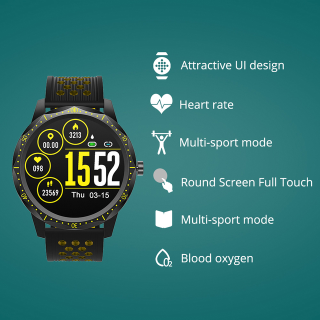 COLMI SKY 1 Pro Fitness tracker IP67 waterproof Smart watch Heart Rate Monitor Bluetooth Sport Men Smartwatch For iPhone Android 1