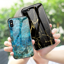 Luxury Tempered Glass Phone Case For iPhone 11Pro Max X XS XR XS Max 8 7 6 6S Plus Glass Cover Case For iPhone 11 Pro Max colorful gradient case for iphone 11 pro max x xs max xr 8 hd glass capa fundas for iphone 11 11pro 8 7 6 6s plus back cover