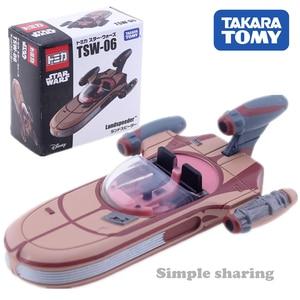 Tomica Star Wars Landspeeder Speeder Cars Takara Tomy Diecast Metaal Model Auto In Speelgoed VoertuigSpeelgoed Collectie(China)