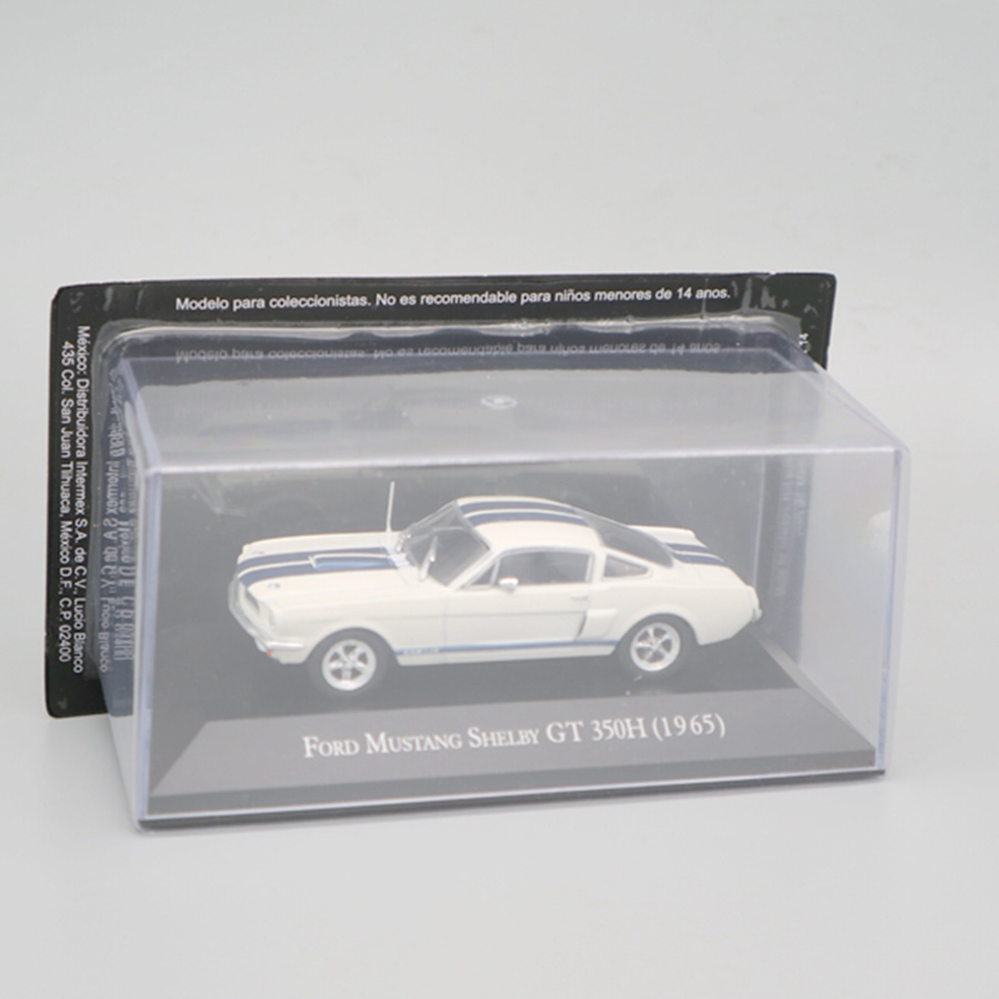 1/43 Scale Metal Alloy Classic Car Diecast Model GT 350h1965 MUSTANG SHELBY Toy Collecection Toy For Kids Child
