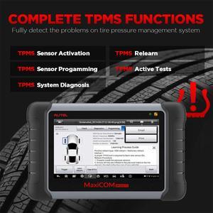 Image 4 - AUTEL MaxiCOM MK808TS TPMS automotive diagnostic tool TPMS programming tool tire pressure tool obd2 scanner pk mp808ts mk808bt