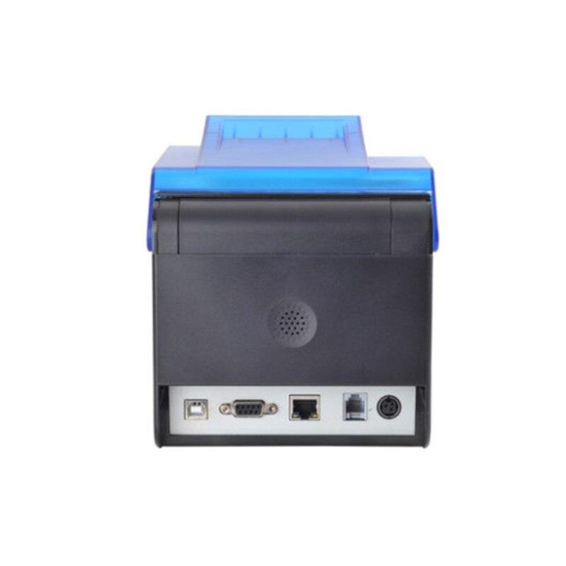 Nouveau 58mm/80mm imprimante thermique restauration alimentaire supermarché au détail POS caissier thermique reçu imprimante buzzer alarme auto coupe papier - 2