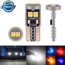 1pc t10 w5w carro canbus led interior luz 194 501 6smd 3030 led luzes do instrumento lâmpada placa cunha luz dome nenhum erro 12v 6000k