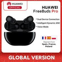 W magazynie globalna wersja HUAWEI Freebuds Pro Smartearphone Qi bezprzewodowa funkcja ładow