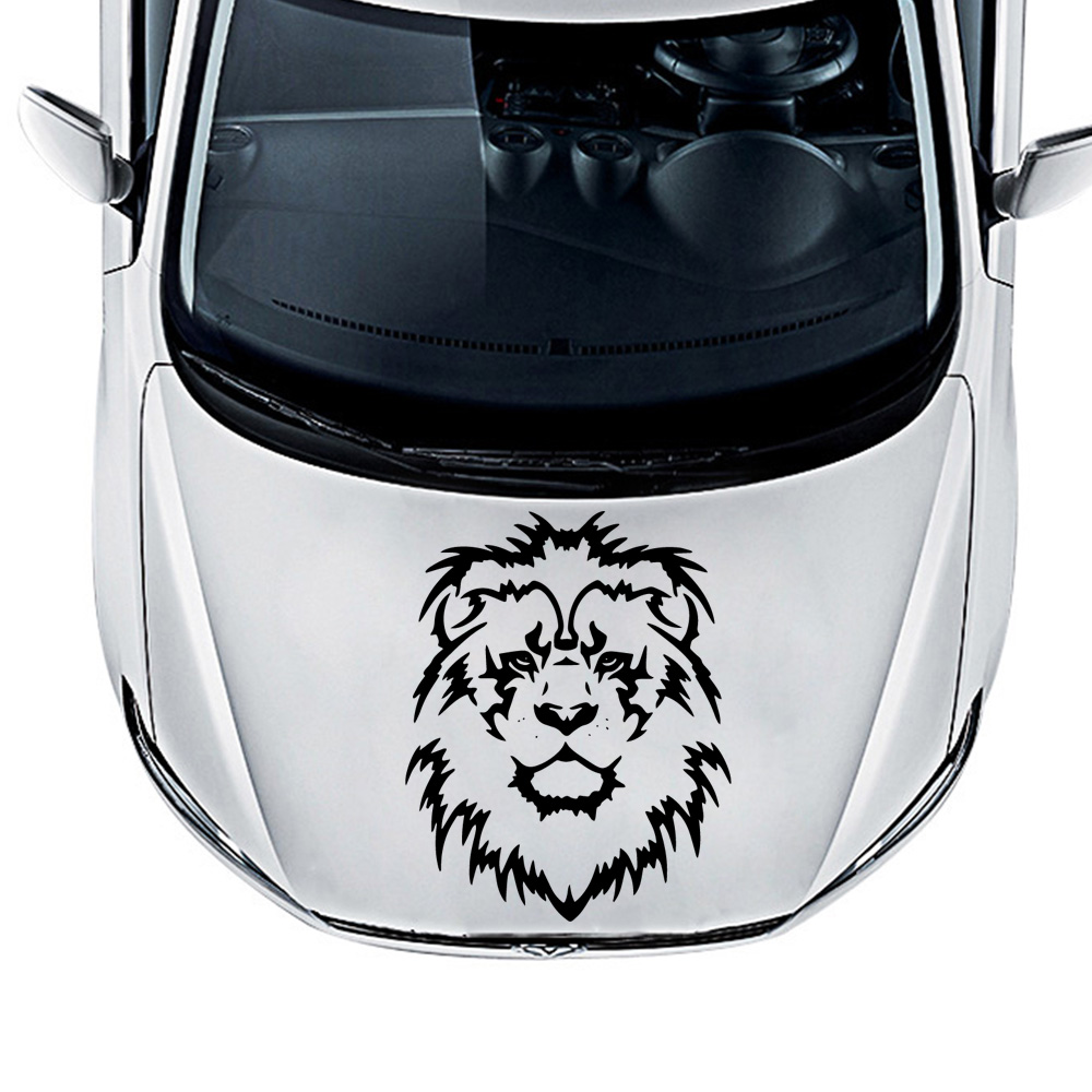 Vinyl Lion Auto Stickers On The Car Reflective Decoration Motorcycle Auto Stickers And Decal Car-Styling Exterior Accessories(China)