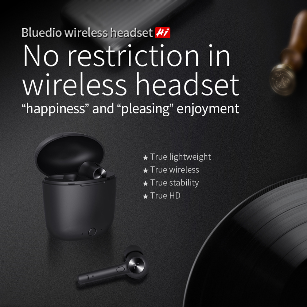 2019 Newest Bluedio HI TWS Black Common Soprt In ear Wireless Earphone HiFi Phone Game Earphone|Bluetooth Earphones & Headphones| - AliExpress
