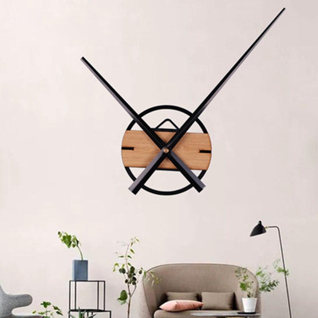 DIY Clock Mechanism Tools Hanging Quartz Silent Wall Clock Movement Mechanism DIY Repair Parts Spindle Long Hand Set Accessories