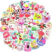 Наклейки с фламинго для девушек vsco 50 шт наклейки Фламинго