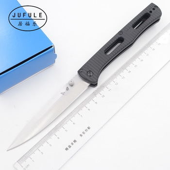 JUFULE Made 417 nylon fibre handle Mark S30v Blade folding Pocket Survival EDC Tool camping hunt Utility outdoor kitchen knife 1