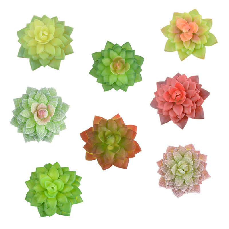 8 шт. Искусственные суккуленты, цветы, мини-растения, искусственные негоршечные цветы, подарки для дома, сада, офиса, Декорации для помещений