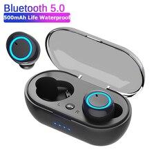 D10/DT2 TWS Bluetooth Earphones Fingerprint Touch Wireless Earbuds HD Stereo Wir