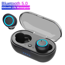 D10/DT2 TWS Bluetooth Earphones Fingerprint Touch Wireless Earbuds HD Stereo Wir