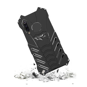 Image 4 - Luxury Batman Kickstand Shockproof Case For Xiaomi 9 9Pro Bumper Armor Metal Back Cover for Xiaomi 9SE 9 Pro Case