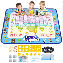 Doodle Magic Water Drawing Mat Pens Stamps Set Painting Board Educational Toys Toy For Child Kids Boys