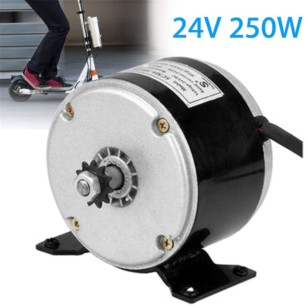 DC 24V 250W Permanent Magnet Motor Generator Wind Turbine Micromotor Electric Scooter Bicycle Motor