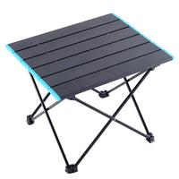 야외 접이식 테이블 미니 컴퓨터 침대 테이블 캠핑 바베큐 용품 하이킹을위한 피크닉 테이블 데스크
