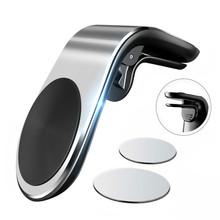 Magnetyczny uchwyt samochodowy do telefonu w uchwyt samochodowy na odpowietrznik klip mocny magnes mobilny uchwyt do smartfona automatyczna obsługa nawigacji GPS tanie tanio HAIMAITONG Nie ma żadnych cech DE (pochodzenie) Uniwersalny Magnet Outlet Clip Car Smartphone Support Uchwyt magnetyczny