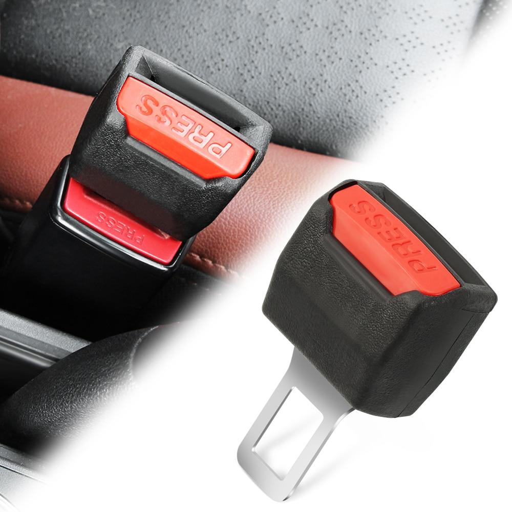 Автомобильный удлинитель зажима ремня безопасности для Ford Fusion Mondeo Mustang F-150 Explorer Edge C-MAX FOCUS RS ST Fiesta