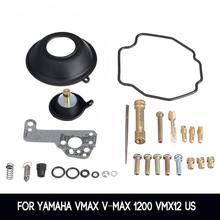 Ремкомплект карбюратора комплект основной суб струйная диафрагма для Yamaha vmax V-Max 1200 VMX12 US