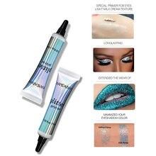 Base de olho primer cola maquiagem de longa duração brilho pré-maquiagem creme para sombra e lábio compõem lantejoulas primer fundação tslm1