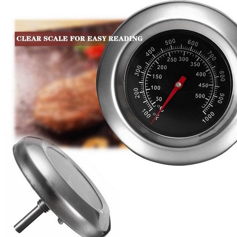 Жаростойкая посуда для барбекю F/C 2 дюйма, духовка из нержавеющей стали с двойным датчиком, термометр 500 градусов, биметаллический, быстрый о...