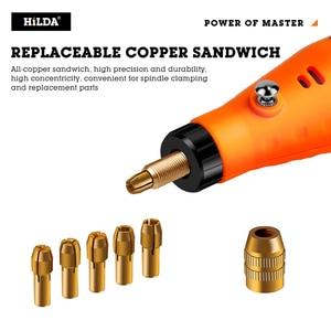 Image 4 - HILDA Mini Trapano Rotary tool 12V Incisione Penna Con Accessori di Macinazione Set Multifunzione Mini Penna Incisione Per Dremel strumenti