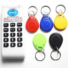 Key-Card Duplicator Id-Reader-Writer Copier RFID NFC Writable 125khz T5577 9-Frequency