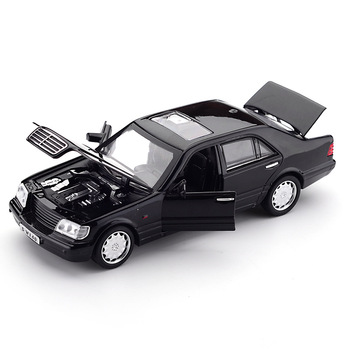 Zhenwei  W140 1:32  Alloy Model Car Sound Light Pull-back Light Sound Alloy Vehicle Model Toys for Children 1 32 bmw m8 modified racing car with sound and light children s alloy toy car model collection gift pull back vehicle