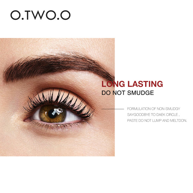 O.TWO.O 4D Silk Fiber Eyelash Mascara Cosmetics Mascara Waterproof Ink Rimel For Eyelash Extension Curling Thick Eye Lashes 4
