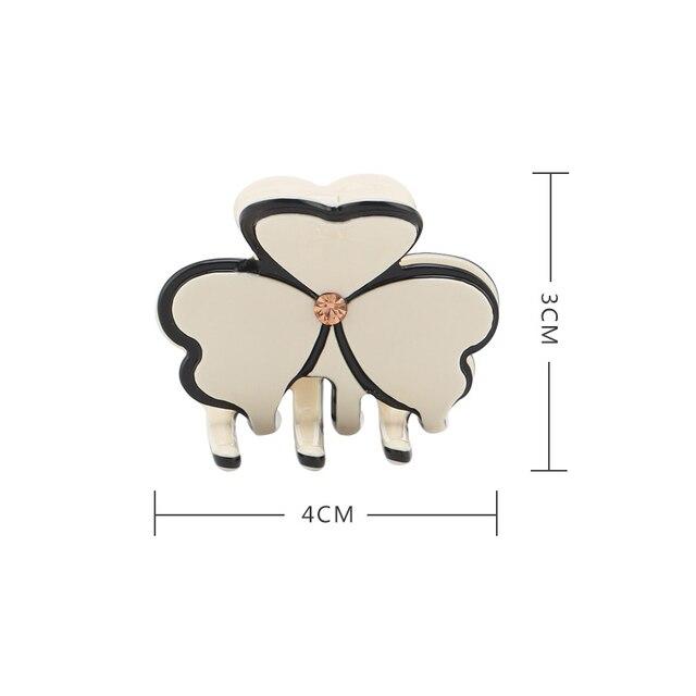 2020 Новый дизайн из ацетатной ткани в форме цветка зажим для