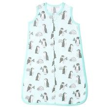 цена Baby Muslin Sleeping Bag Soft Bamboo Fiber 2-Layers Sleeveless Vest Jumpsuit Muslin Blanket Quilt For Toddler Bedding Sleepsacks онлайн в 2017 году