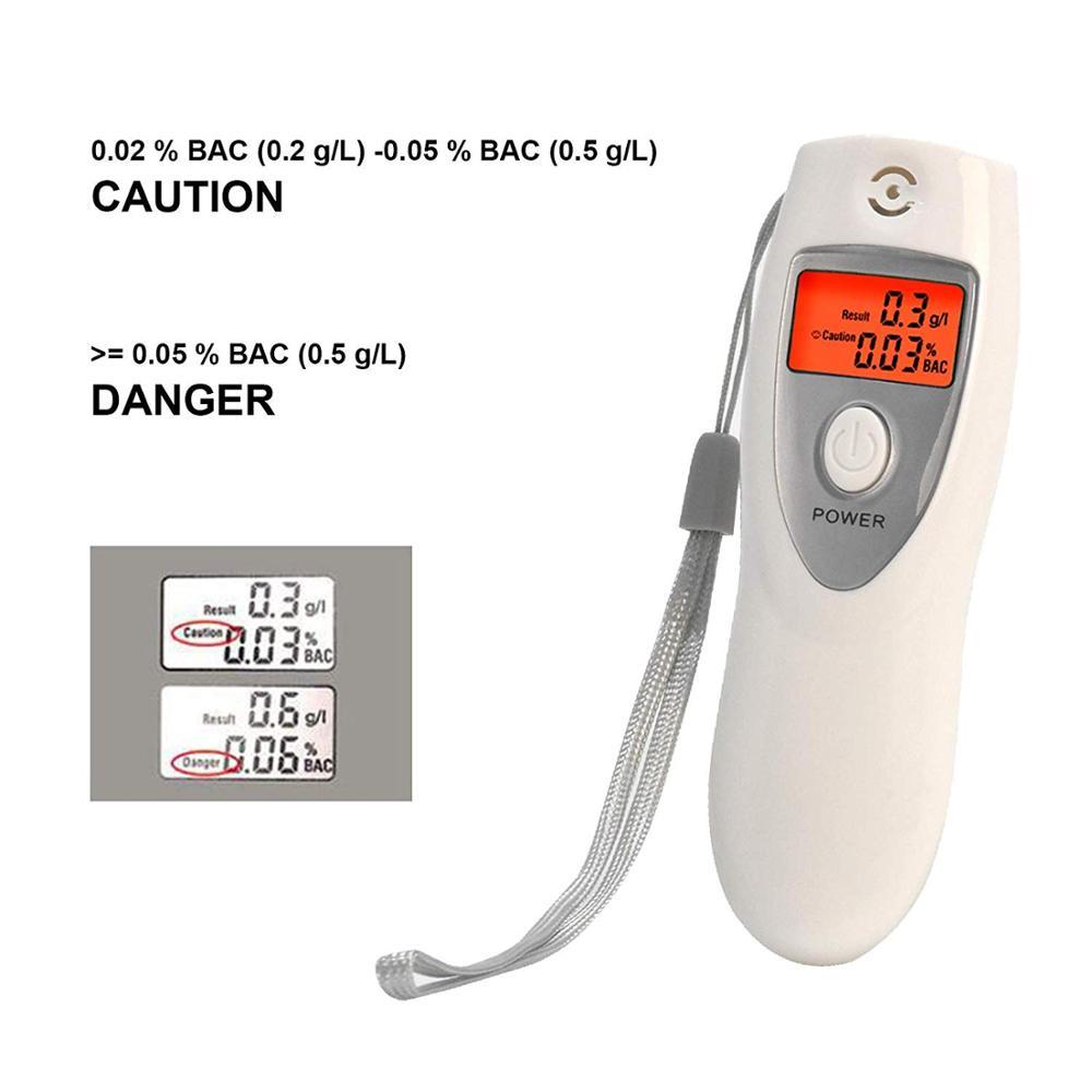 GREENWON Профессиональный Мини цифровой ЖК-Тестер дыхания Алкотестер продвижение спирта метр