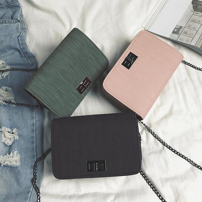 Women Bags Messenger-Bag Small Designer Square Bolsa-Feminina Wild Version Girls