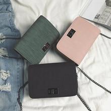Women Shoulder Bag 2019 Luxury Handbags Bags Designer Version Wild Girls Small Square Messenger Bolsa Feminina