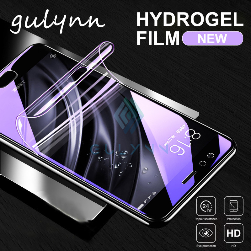 Hydrogel Film For Xiaomi Redmi Note 7 6 5 8 Pro Film Anti Blue Light Screen Protector For Redmi 7 8A 8 4X 5 Plus Protective Film