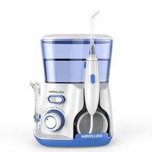 Waterpulse Dentale Getto di Acqua Flosser Irrigatore Orale Denti Cleaner Hydro Jet 800ml di Acqua Serbatoio di acqua pick spazzolini da denti elettrici