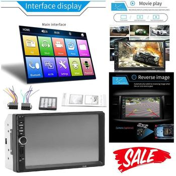 2 din Car Radio 7HD Autoradio Multimedia Player 2DIN Touch Screen Auto audio Car Stereo MP5 For android iPhone Mirror Link image