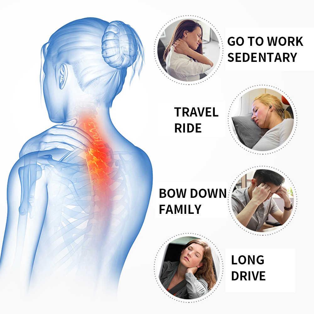 U Berbentuk Memori Busa Leher Bantal Lembut Lambat Rebound Ruang Perjalanan Leher Bantal Bantal Serviks Kesehatan Tempat Aksesoris Perjalanan