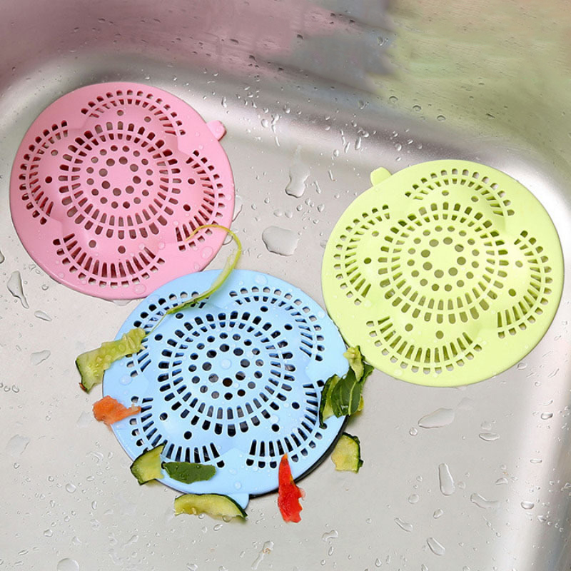 Sink Anti-clogging Floor Drain Cover Bathroom Hair Filter Kitchen Sink Sewer