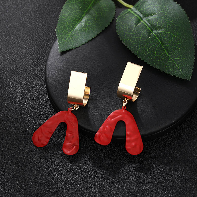 CARTER LISA 2019 Fashion Drop Earrings 3 Color Geometric Dangle For Women Kolczyki Pendientes Boucles D'oreilles Earings Jewelry