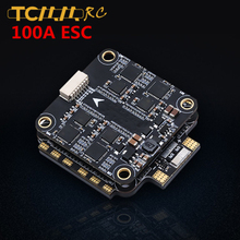 TCMMRC Flying stack Bluetooth F4 Flight Controller 100A ESC 3-8S Dshot1200 4in1 FPV